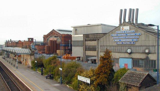 Brush Works & Station Loughborough