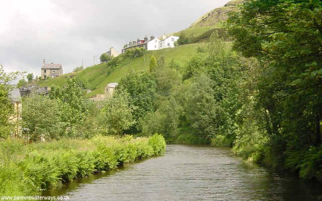 Rochdale Canal near Walsden