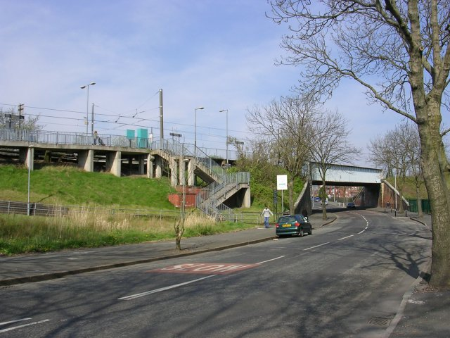 Woodlands Road Station, Cheetham Hill, Manchester
