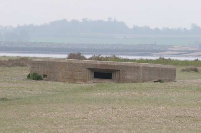 Pill Box on Mersea Island