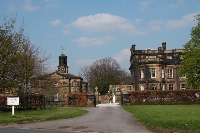 Heath Hall and Stable block, Heath Common