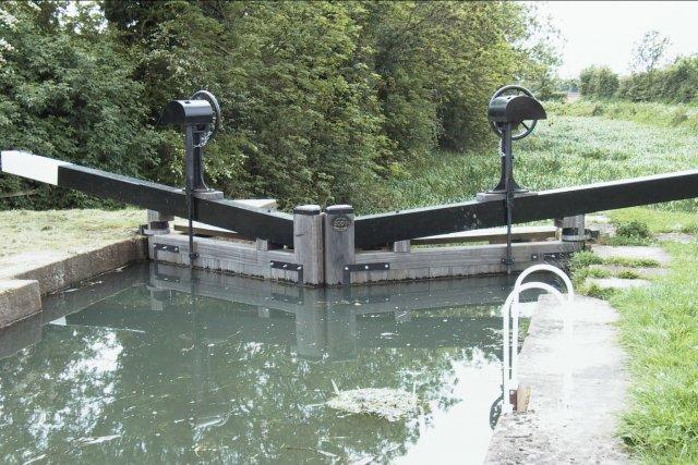 Lock on the Pocklington Canal