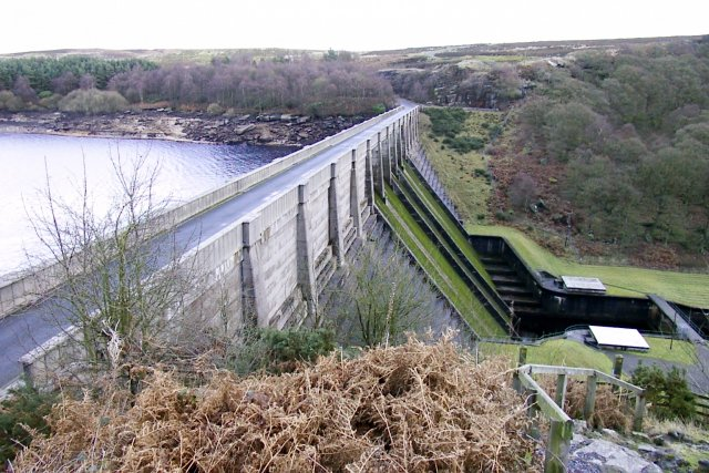 Thruscross Reservoir Dam