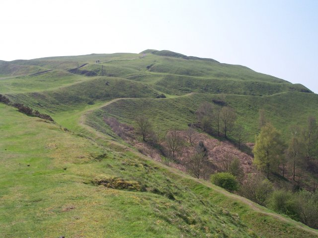 Herefordshire Beacon Iron Age Hillfort and Norman Motte