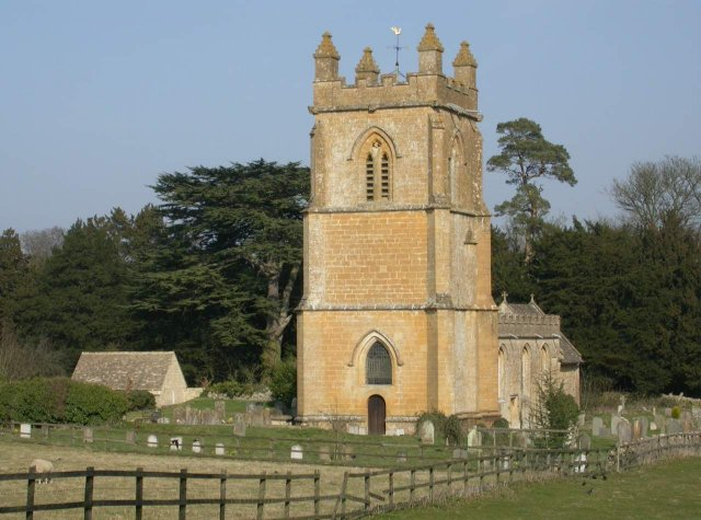 Temple Guiting church