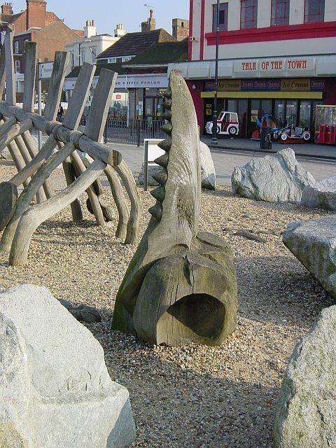 Dinosaur Bones - Herne Bay