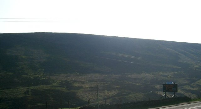 Looking South West-ish from the Snake Pass Inn