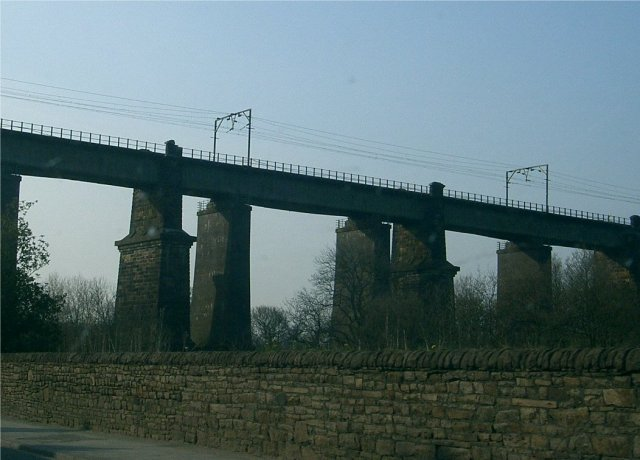 Railway Viaduct over Dinting Vale