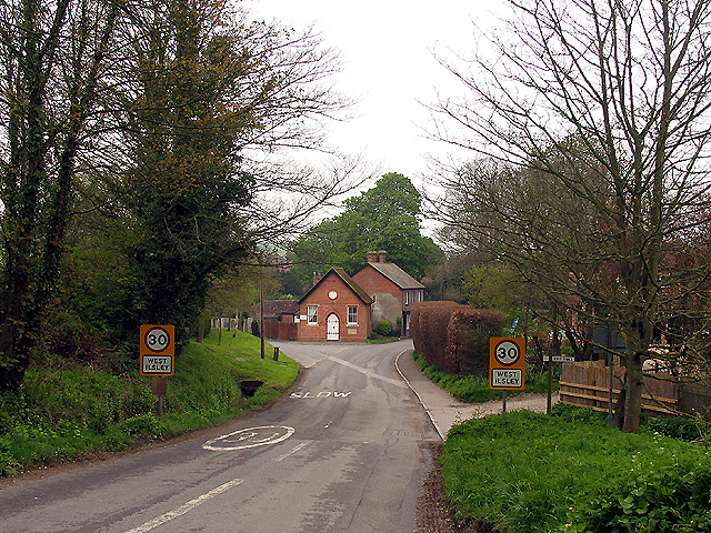 Approach into West Ilsley