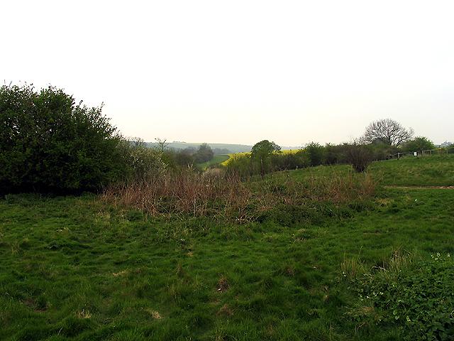 Mound: nr East Ilsley