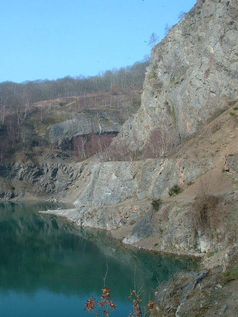 Gullet Quarry - from East