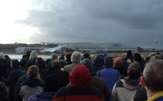 Concorde's final Touch-down