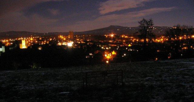 Ludlow by night