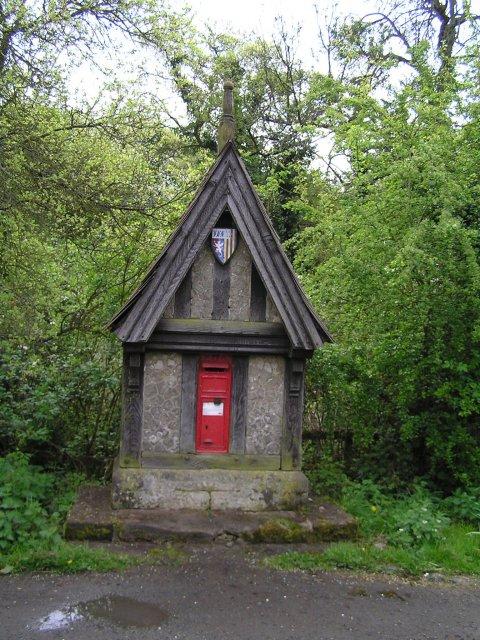 Royal Mail box at Radford