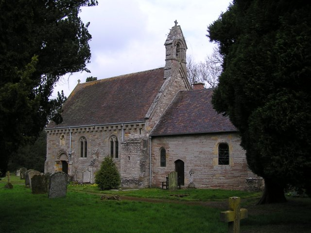 St. Peters church, Rous Lench.