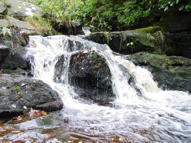 Black Burn Falls. Cragside