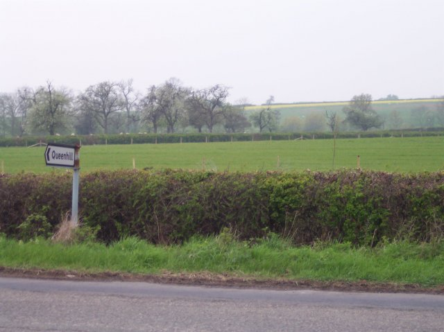 Coneyburrow Hill from the Queenhill junction