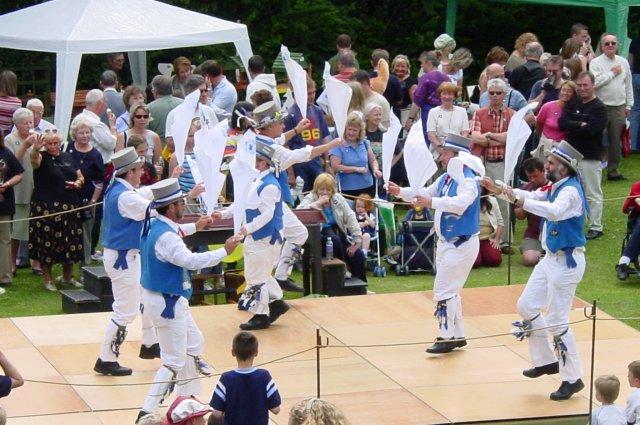 Morris Dancers at Ovingham Goose Fair