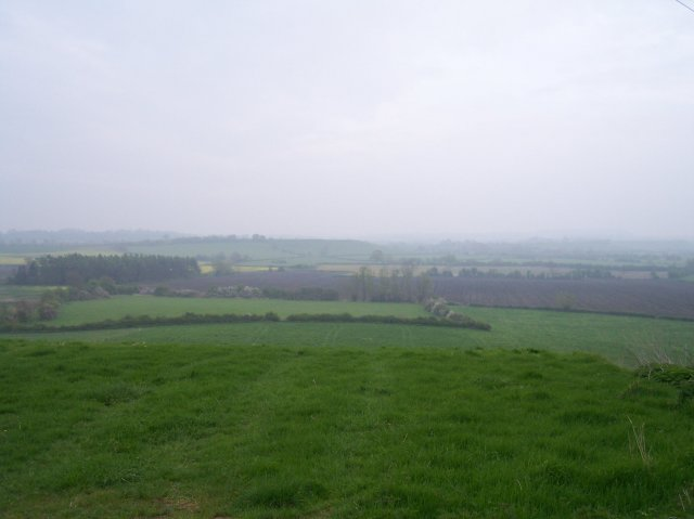View over Longdon Marsh out to Coneyburrow Hill.