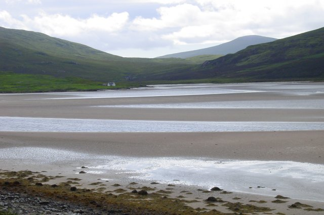The southern end of Kyle of Durness