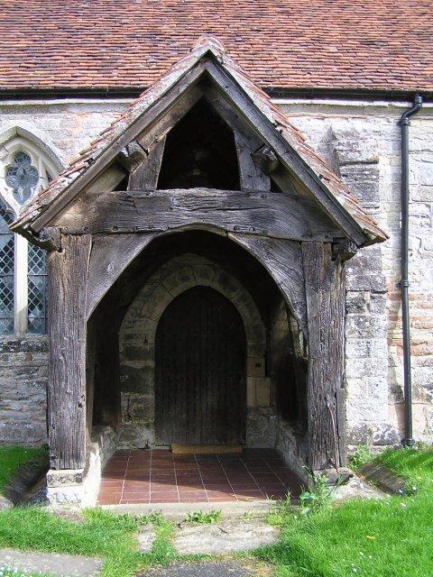 Door of Dormston Church