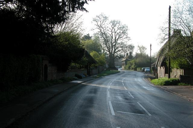 Entering Chilton Foliat from the West.