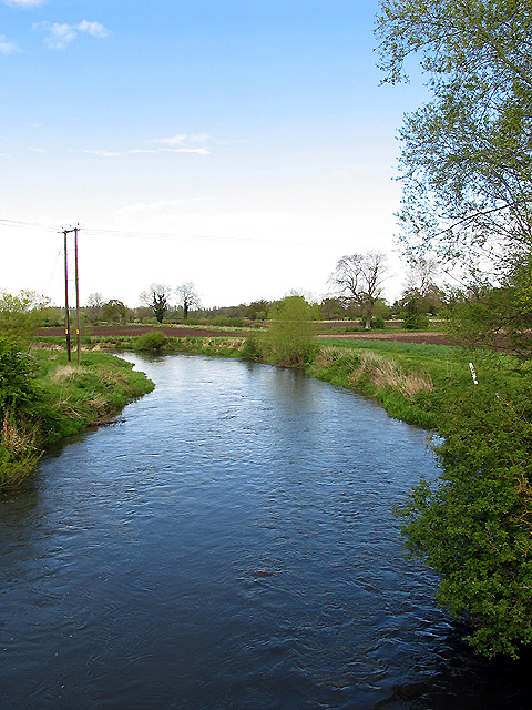 Kennet River from the Padworth Bridge