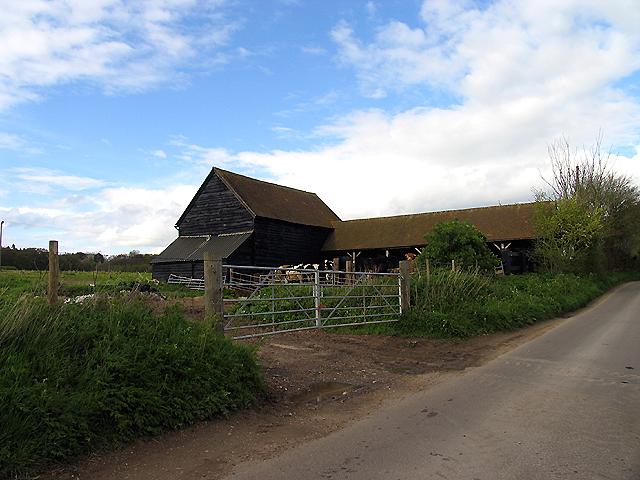 Field Barn on Back Lane near Bradfield