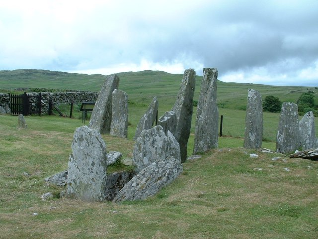 Chambered Cairn at Cairnholy