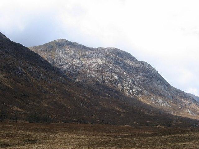 Beinn Bheag above Glen Gour.
