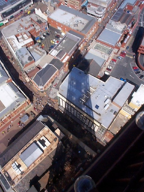 Looking East from Blackpool tower