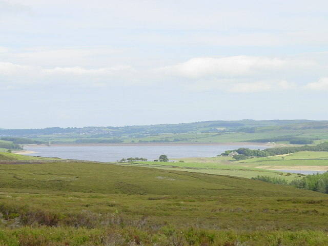 Derwent Reservoir viewed from Westcowburn Head