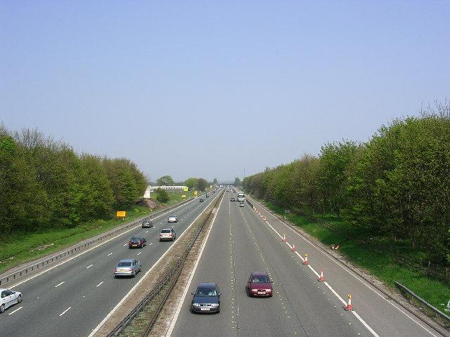 M62, Irlam, Salford