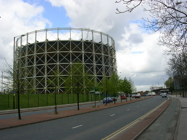 Gasholder, Bradford, Manchester