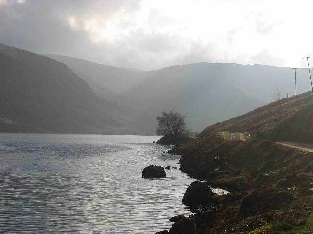 Loch Lee road