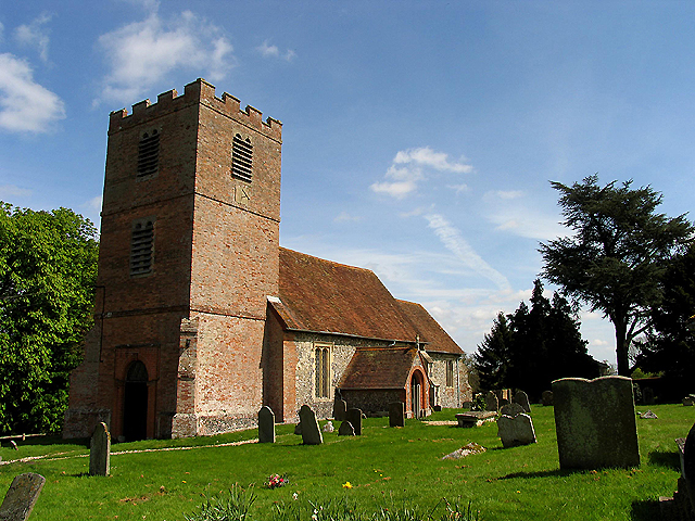 St Mary's Church at Hamstead Marshall (Benham Marsh)