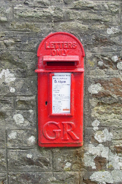Village post box, Pigdon, Morpeth