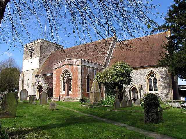 St Mary's church at Kintbury
