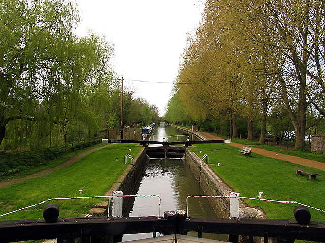 Kintbury Lock: Kennet and Avon Canal