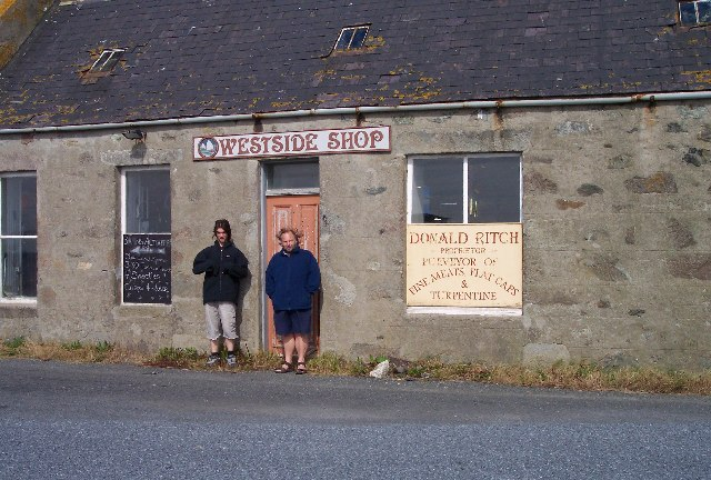 Westside Shop, Uyeasound, Unst
