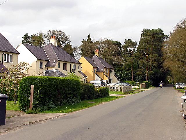 Residential area near Inkpen