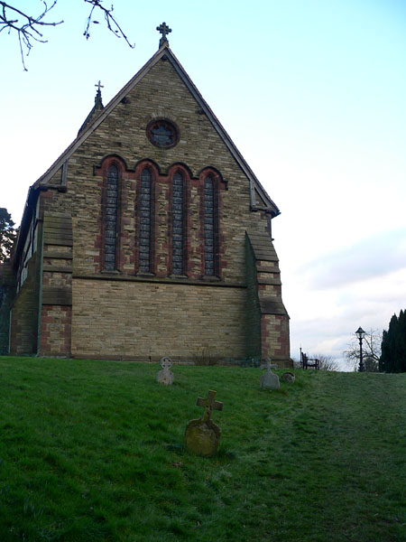 St Bartholomews Church, Hints.