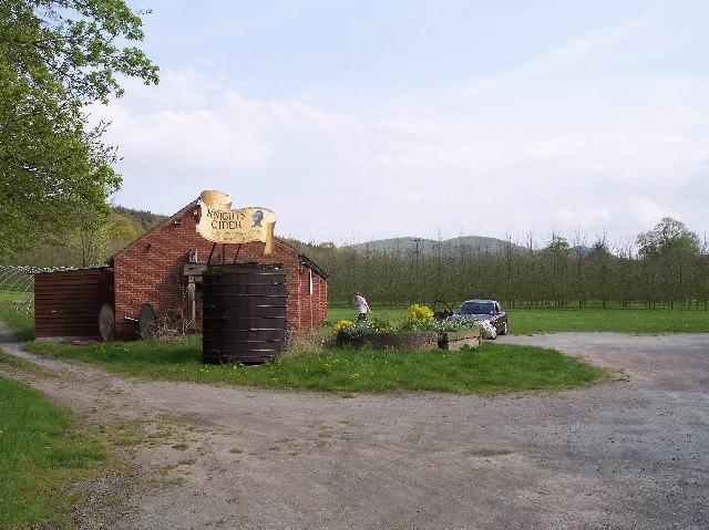 Knight's Cyder Farm Shop, Storridge