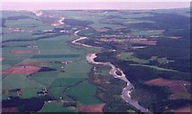 NJ3458 : Fochabers and the Spey Estuary by Anne Burgess