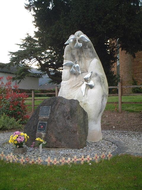 The Hand of Peace, Barnards Green, Malvern