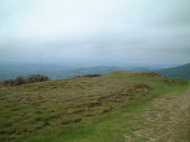 Tumuli on Pinnacle Hill