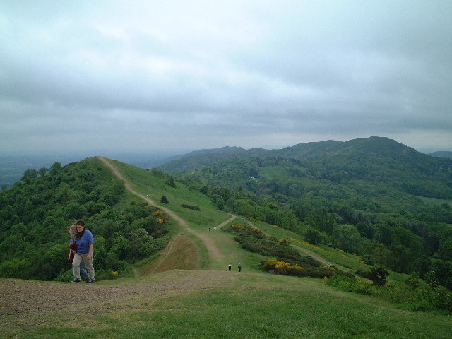 Black Hill from Pinnacle Hill, Malvern Hills