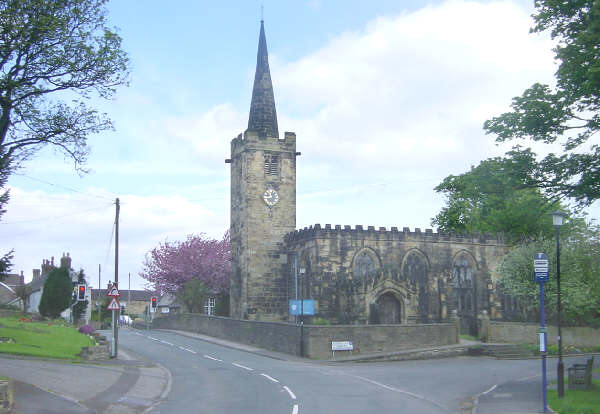 St. Mary's Church, Worsbrough Village