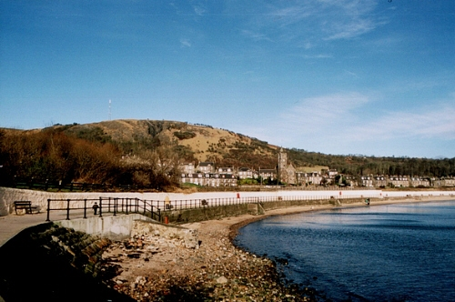 Burntisland from the Leisure Centre