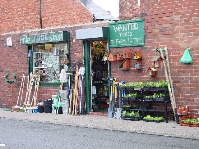 A relic of the past; a shop off Sea Road, Seaburn